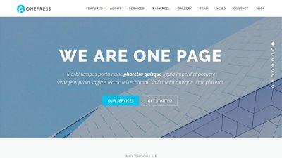 OnePress(WordPressテーマ)でウェブサイトを作る